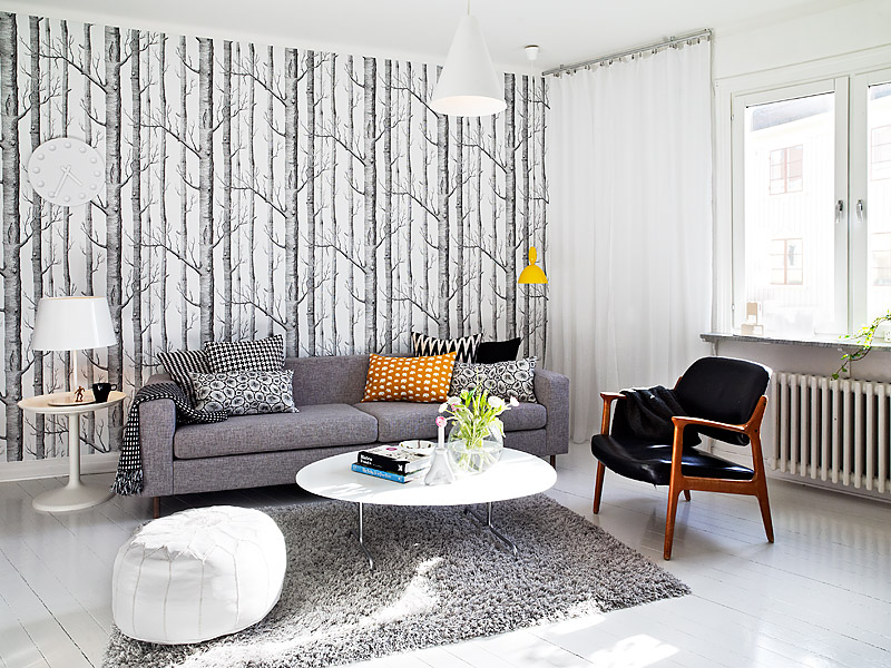 Modern Living Space Swedish